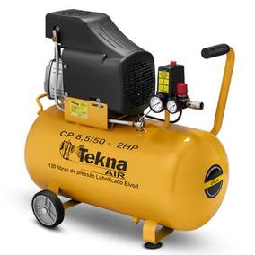 Compressor De Ar 2hp 50 Litros Cp 8.5/50 Bivolt Tekna