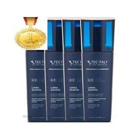 Kit Com 4 Shampoo Lumina - Matizador / 300ml Tec Italy