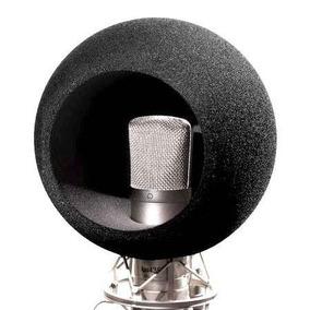 Espuma Esfera Para Microfones Condensadores, Rádios, Estudio