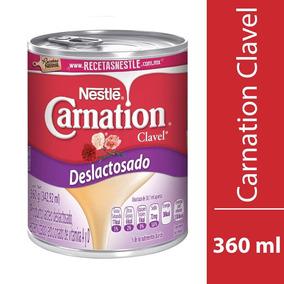 Clavel Leche Evap Lata S/lactosa 48/360 Gr