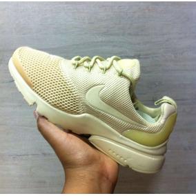 Tenis Zapatillas Nike Air Presto Fly Amarilla Mujer Env Gr