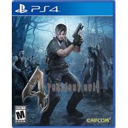 Resident Evil 4 Juego  Ps4 Fisico- Mipowerdestiny