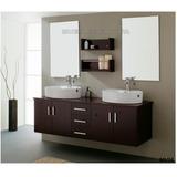 Doble Lavamanos Incluye Mueble Para Baño C Monomandos