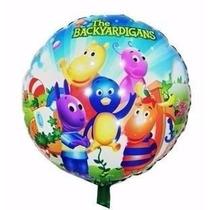 Balão Metalizado Backyardigans Kit/24 Frete Grátis