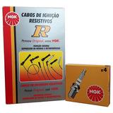 Kit Cabos De Vela + Velas Daewoo Super Salon 2.0 94 A 95