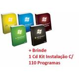 Cd Formatação Computadores E Notebooks Win 7 Br 32 E 64 Bits
