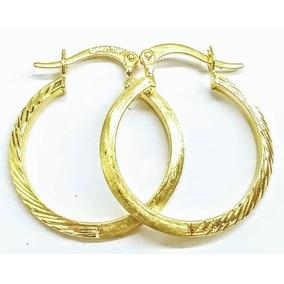 56bac5b3ba3d Aretes Arracadas Mod. Diamantado En Oro 10k Remate Nuevos. Nuevo León ·  Arracadas Para Dama En Oro 10k 2.5 X 2.2 Cms Mod Pave Italy