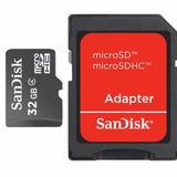 Cartão Micro Sd Sandisk 32 Gb - Lacrado