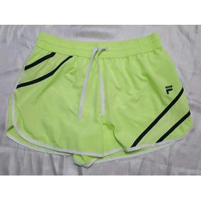 Shorts Marca Fila Talla Grande Amarillo Neon Nuevos