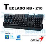 Teclado Genius Kb-210 Gaming Usb Juegos Itelsistem