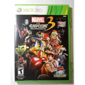 Marvel Vs Capcom 3 Original Completo Xbox 360