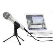 Microfono Samson Q-1u Usb Dinamico De Mano+soporte+cable Tm