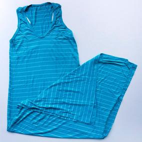 Kit 10 Vestido Longo Feminino Fenda Lateral Listrado Atacado