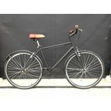 Bicicleta Fixe Sport Urbana R28 Ruedas Anchas Guardabarros