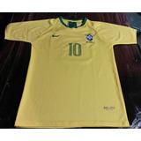 Franela Camiseta De Brasil Mundial 2018