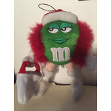 Peluche Chocolate M&m Verde Christmas Navidad Shopping Girl