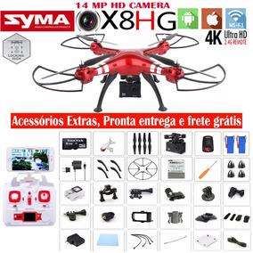 Quadricoptero Syma X8hg Fpv Barômetro C/ Câmera 4k Ultrahd