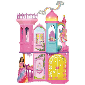 Barbie Reino De Arcoiris Castillo Magico