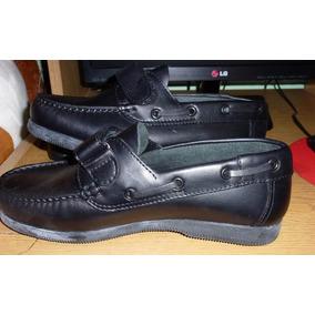 Zapatos Nauticos Mocasines 100% Cuero - Hombre, Nuevos!
