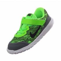 Nike Flex Experience 4 Print Tenis Running Infantiles 14 Mex