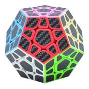 Cubo Rubik Megaminx Fibra Carbono Lefun