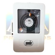 Interruptor Timer Voltaje Dual 110-230v Para Alberca