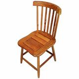 Cadeira Madeira Clássica Estilo Country G Maciça Rústica