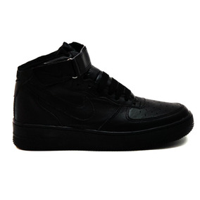 Tenis Bota Airmax Nike Negro Negro Airforce Botin