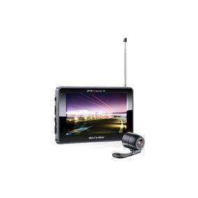 Gps Multilaser Tracker Iii 5 Tv Digital Câmera De Ré Gp037