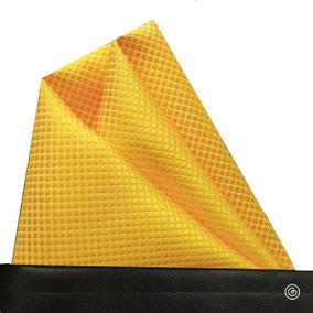 Pañuelo De Bolsillo Para Traje De Hombre Grin Accs Amarillo