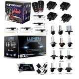 Kit Luces Hid Xenon Lumen 35w Kit Alarma 4 Seguros Y Cajuela