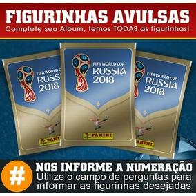 Figurinhas Avulsas Copa Do Mundo Rússia 2018 (0,40 Centavos)