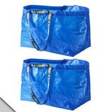 Ikea - Bolsa De Compras Clásica Azul Frakta (x2)