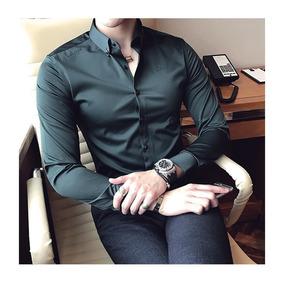 Camisa Social Slim Fit Barato Luxo Lançamento 2018