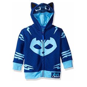 Sudadera Disfraz Catboy De Heroes En Pijamas Talla 2 3 4 5