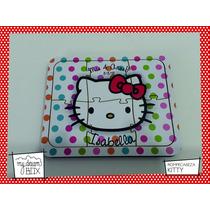 Souvenir Rompecabeza Personalizado Madera 15x15 Hello Kitty