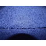 Tela Toalla Doble Felpa Color Azul Marino X 5 Metros
