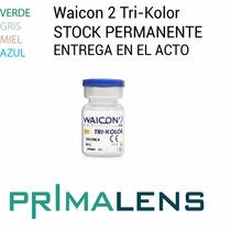 Lentes De Contacto Waicon Tri-kolor Originales Primalens