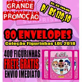 Promocao Coleção Figurinhas Lol - 80 Envelopes