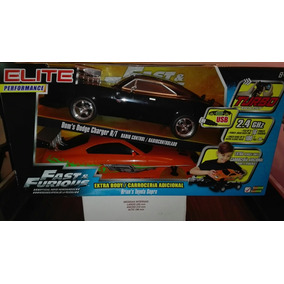 Carro Rápido Y Furioso A Control Remoto Challenger Y Supra