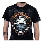 Camiseta Kallegari Freedom Moto Big Trail Bmw Triumph Honda