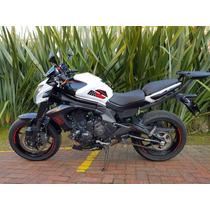 Kawasaki Er6n 2016 (con/sin Fullsystem Akrapovic)