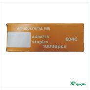 Grampos Para Alceador 604c - Caixa Com 10.000pcs