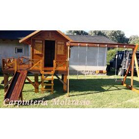 casa de madera para exterior modelo maximo incluye juegos