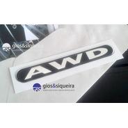 Emblema Logo Awd Asx Outlander - Original Mitsubishi