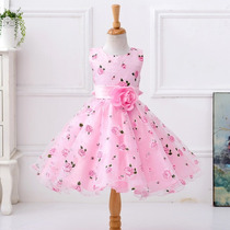Vestido Infantil Festa Casamento Dama Baile 8 A 13 Anos Rosa