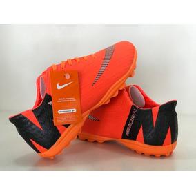 Chuteira Tênis Society Nike Mercurial Laranja 2018