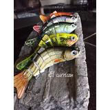 Juego De Señuelos De Pesca Articulados 10cm -18gr.