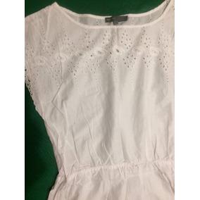 Vestido blanco en falabella