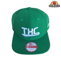 Boné Aba Reta Importado New Era Txc Brand Verde E Branco